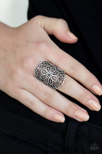 Majestic Mandala - Black Ring
