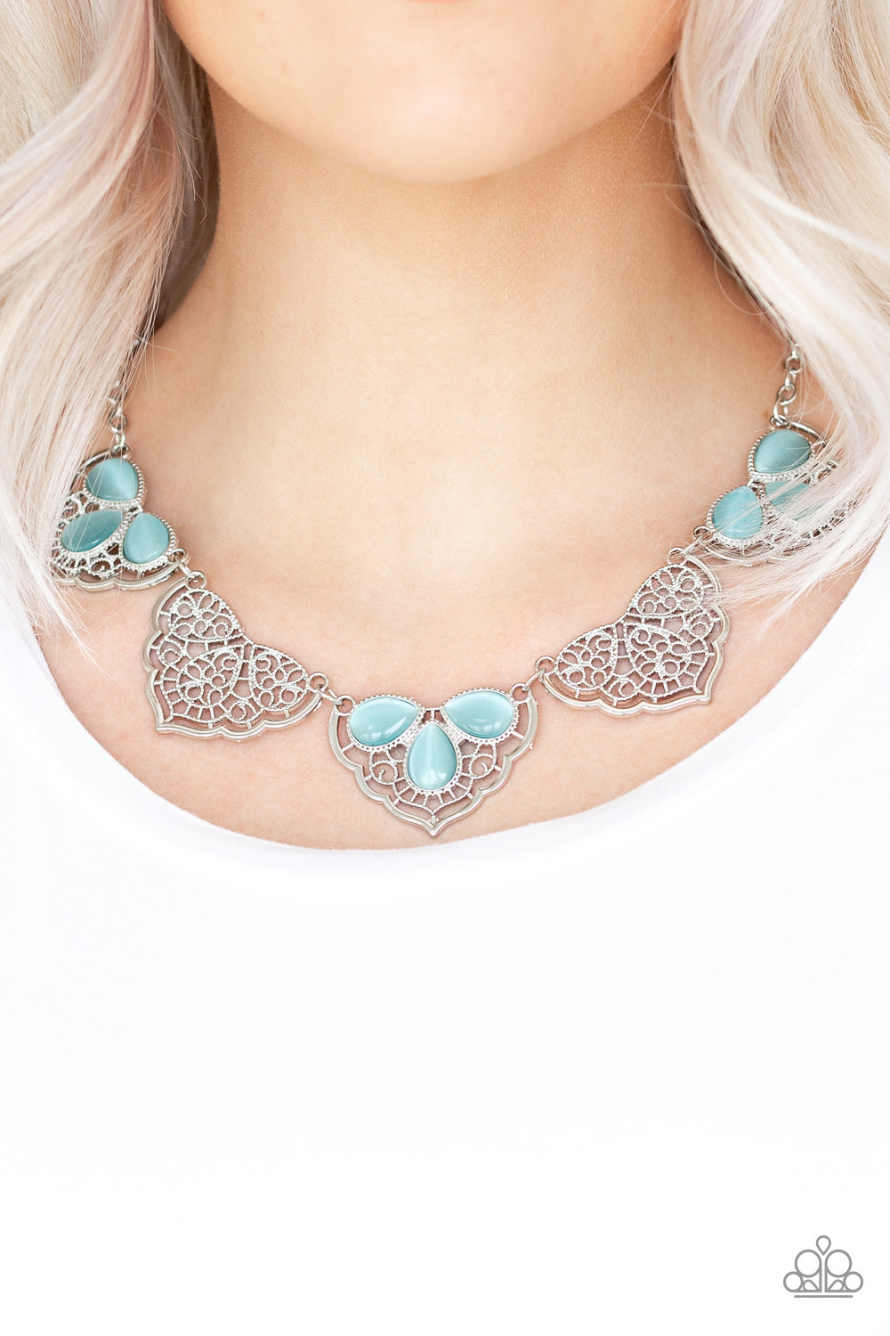 East Coast Essence - Blue Necklace