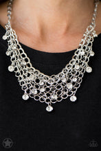 Load image into Gallery viewer, Fishing for Compliments - Silver Blockbuster Necklace 1184N