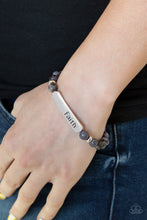 Load image into Gallery viewer, Faith In All Things - Purple Bracelet 2B