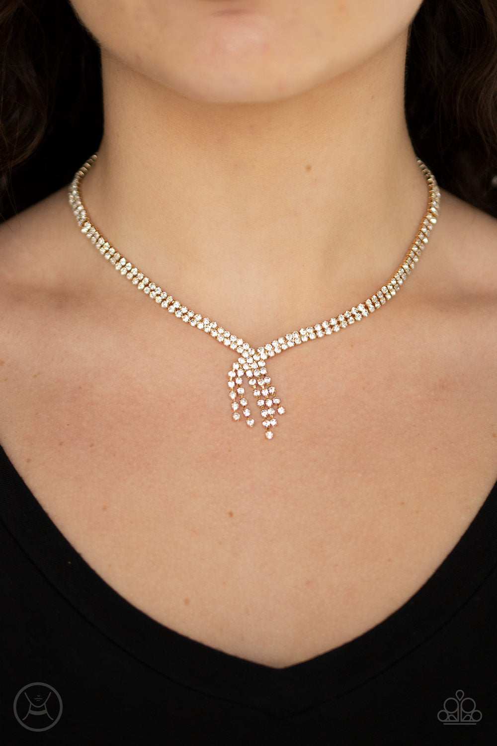 Ante Up - Gold Necklace 1128N