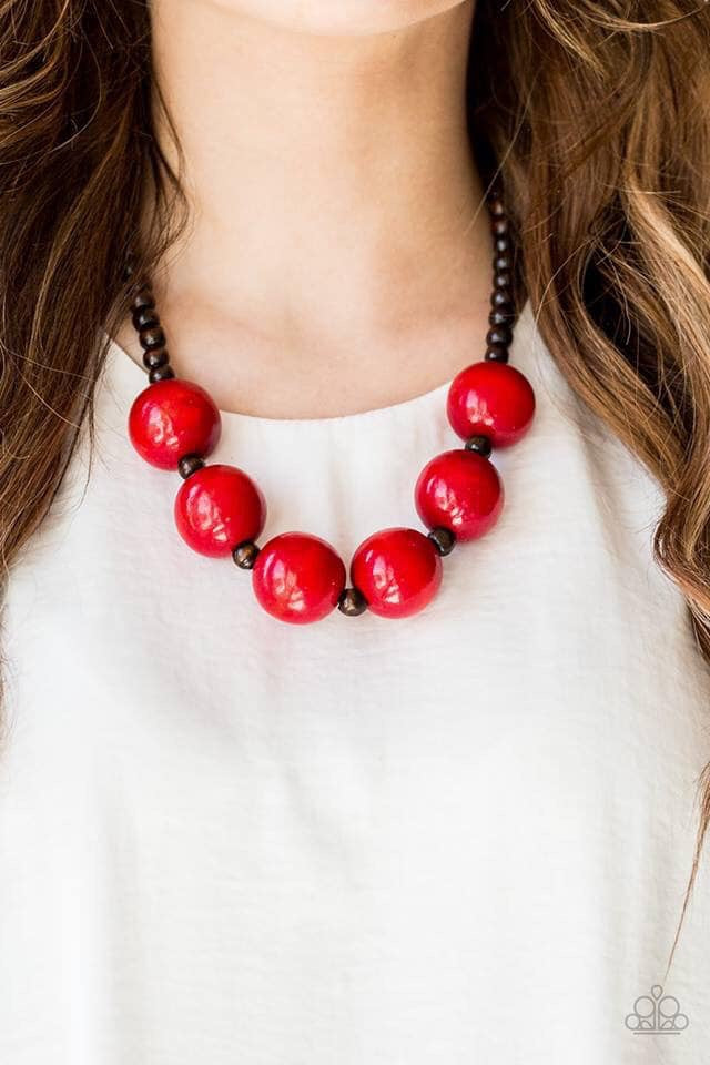 Oh My Miami - Red Necklace