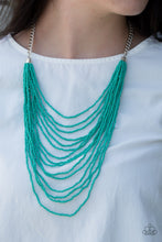 Load image into Gallery viewer, Bora Bombora  - Blue Necklace