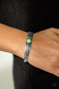 Singing Sahara - Green Bracelet