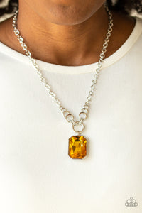 Queen Bling - Yellow Necklace