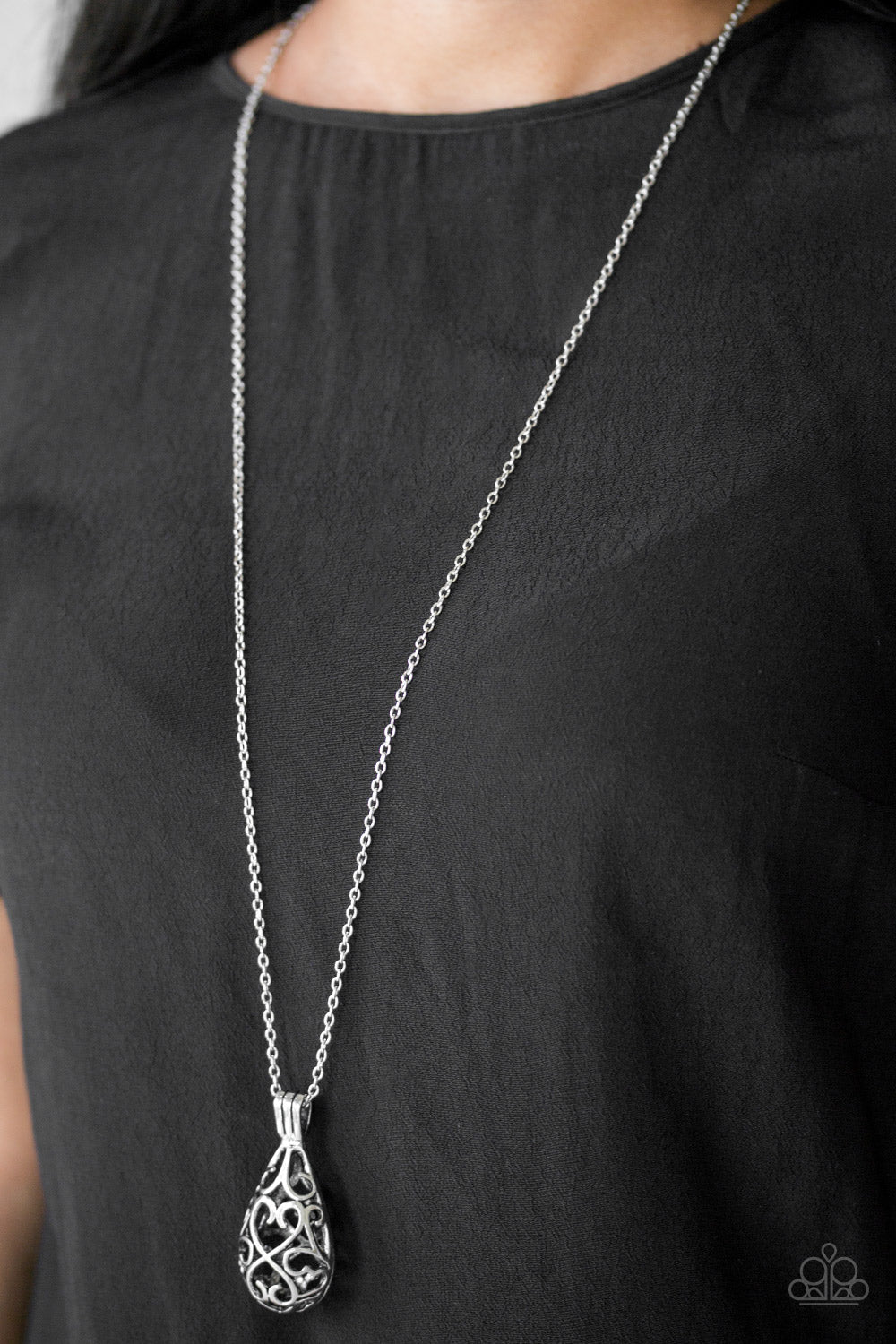 Magic Potions - Silver  Necklace 1098N