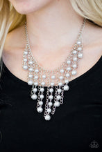 Load image into Gallery viewer, STUN Control - White Necklace