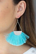 Load image into Gallery viewer, Modern Mayan - Blue Earring 94E