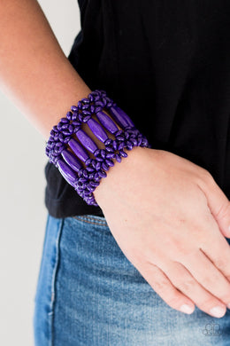 Barbados Beach Club - Purple Bracelet