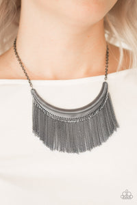 Zoo Zone - Black Necklace 1289N