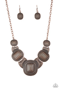 Prehistoric Powerhouse - Copper Necklace 7n