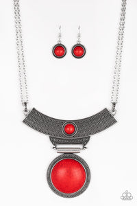 Lasting EMPRESS - Red Necklace 48n
