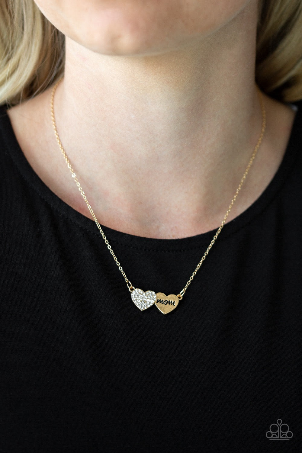 Mama Knows Best - Gold Necklace
