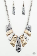Load image into Gallery viewer, Texture Tigress - Multi Necklace 37n