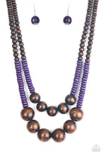 Load image into Gallery viewer, Cancun Cast Away - Purple Necklace
