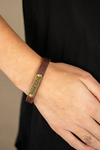Love Life - Brown Bracelet 1610B