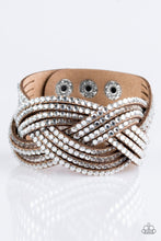 Load image into Gallery viewer, Top Class Chic - Brown Urban Bracelet