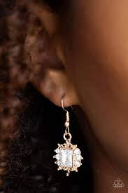 Can't Stop The REIGN - Gold Earring 2543E
