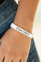 Load image into Gallery viewer, Love Life - White Bracelet 1610B