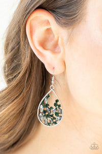 Cash Or Crystal - Green Earring 2643E