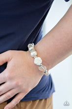Load image into Gallery viewer, Here I AM - White Bracelet