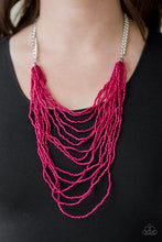 Load image into Gallery viewer, Bora Bombora - Pink Necklace