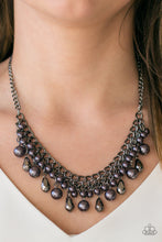 Load image into Gallery viewer, Imperial Idol - Black Necklace 1082n