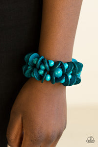 Tropical Temptress - Blue Bracelet
