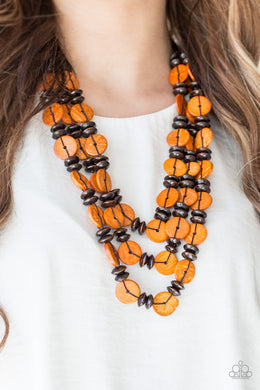 Key West Walkout  - Orange Necklace