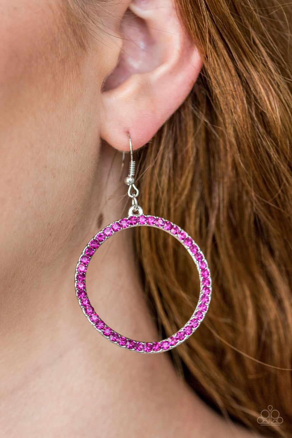 Stoppin Traffic - Pink Earring