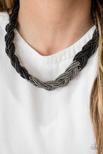 Load image into Gallery viewer, Brazilian Brilliance - Black  Necklace 1303N