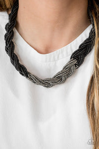 Brazilian Brilliance - Black  Necklace 1303N