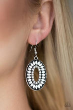 Load image into Gallery viewer, Fishing For Fabulous - White Earring 2550E