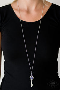 Unlock Every Door - Purple Necklace 90N
