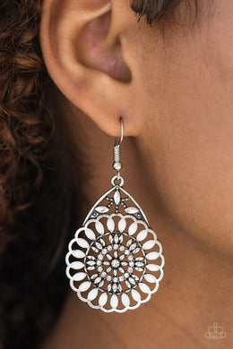 Perfectly Paradise - White Earring