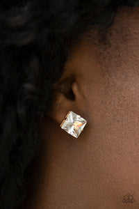 Prima Donna Drama - Gold Post Earring