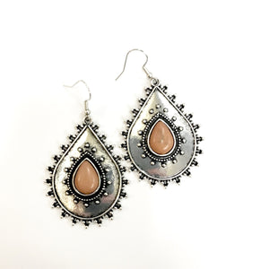 Desert Drama - Brown Earring