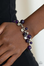 Load image into Gallery viewer, Glossy Glow - Purple Bracelet