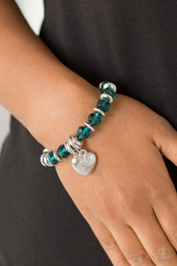 Need I Say AMOUR ? - Blue Bracelet 1607B