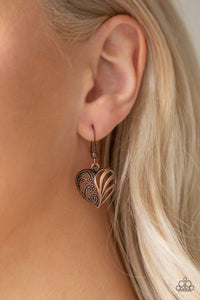 Love Lockets - Copper Necklacs