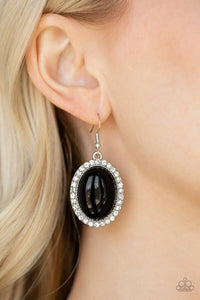 Celebrity Crush - Black Earring