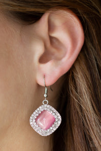 Glam Glow - Pink Earrings