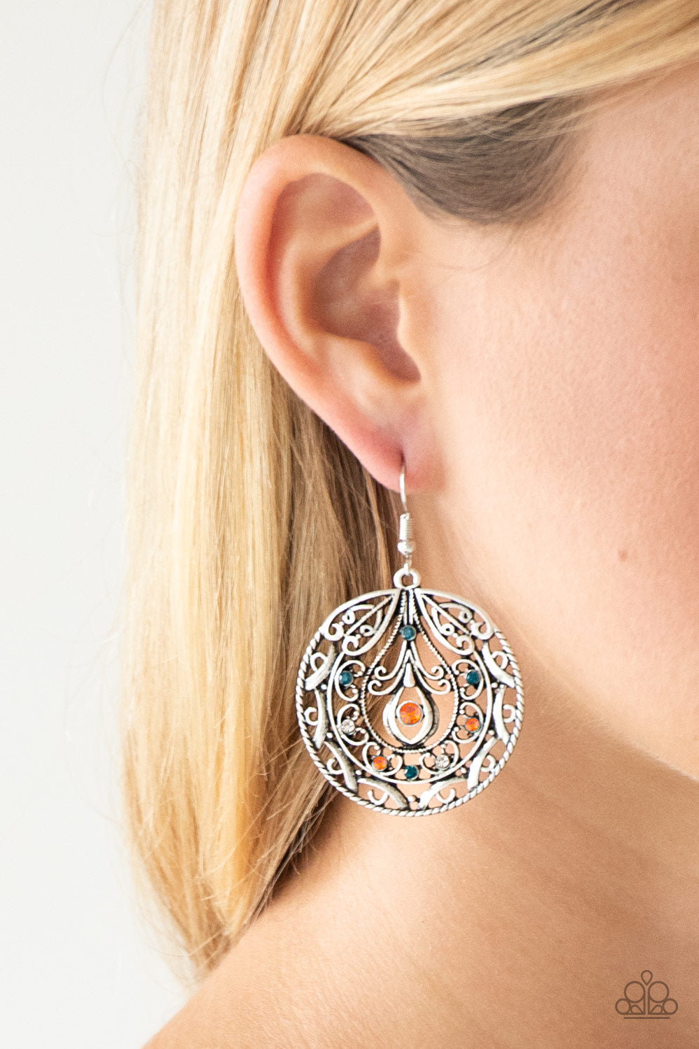 Choose To Sparkle - Multi Earring