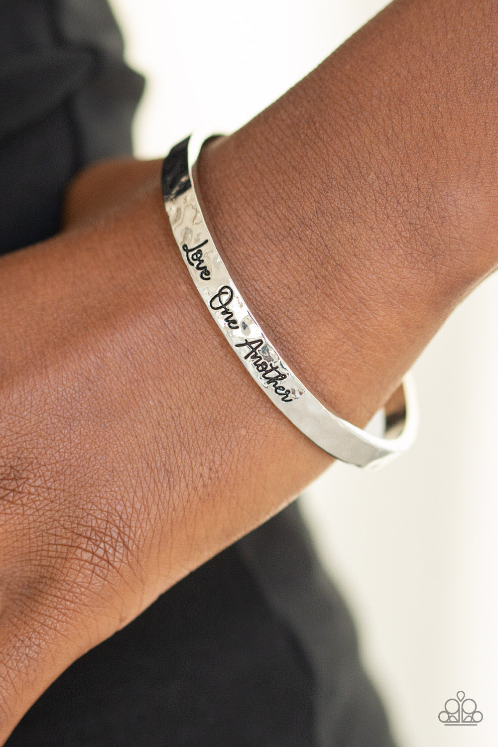 Love One Another - Silver Bracelet 12B