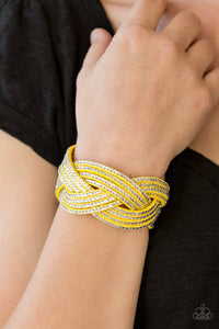 Big City Shimmer -Yellow  Bracelet
