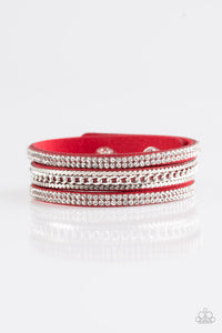 Unstoppable - Red Urban Bracelet