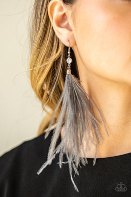 The SHOWGIRL Next Door - Silver Earring