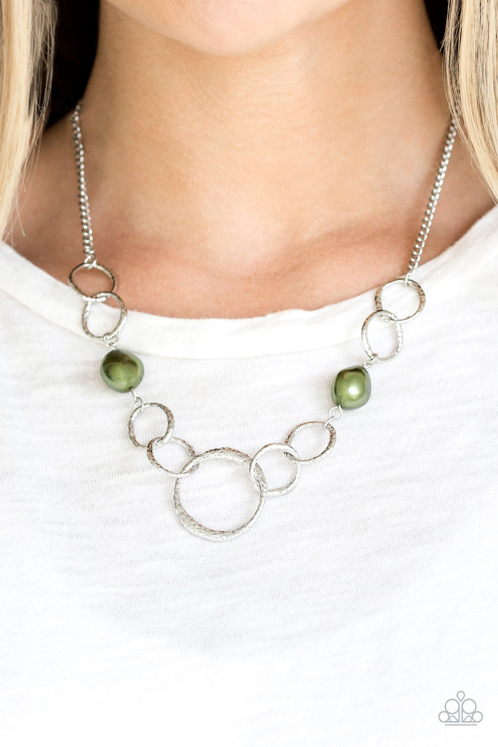 Lead Role  - Green Necklace 2607N
