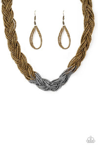 Brazilian Brilliance - Multi  Necklace 1303N