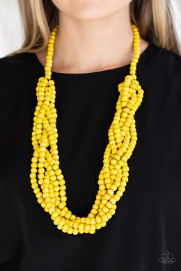 Tahiti Tropic - Yellow Necklace